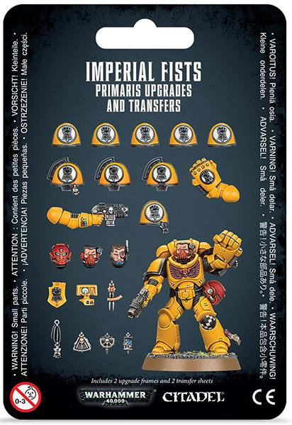 Imperial Fists: Primaris Upgrades and Transfers