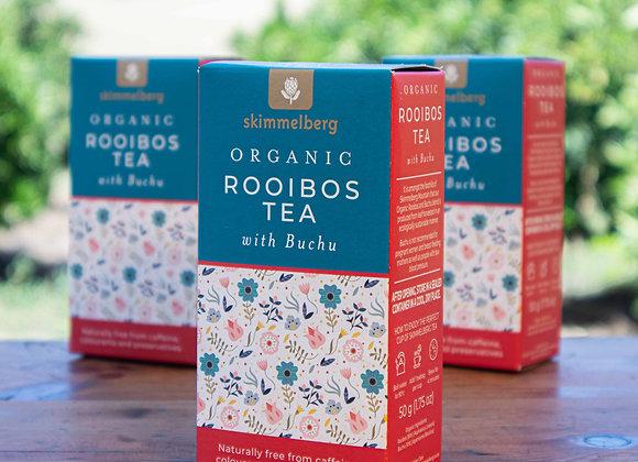 Organic Rooibos Tea with Buchu