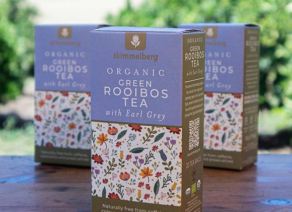 Organic Green Rooibos Tea with Earl Grey