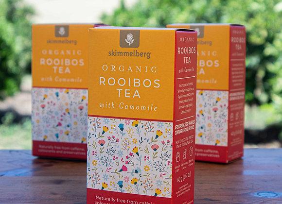 Organic Rooibos Tea with Camomile