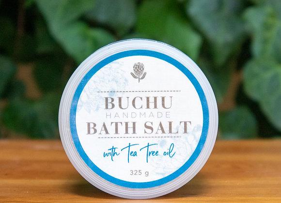 Buchu & Tea Tree Oil Bath Salt
