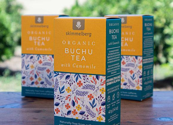 Organic Buchu Tea with Camomile