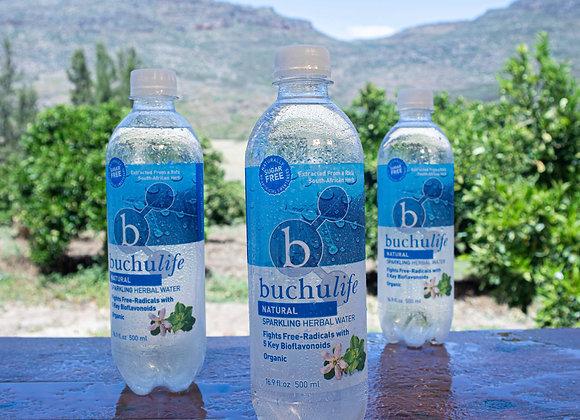 Buchulife Sparkling Herbal Water Natural