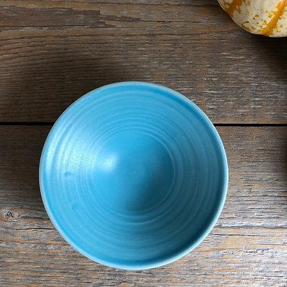 turquoise satin petite bowl