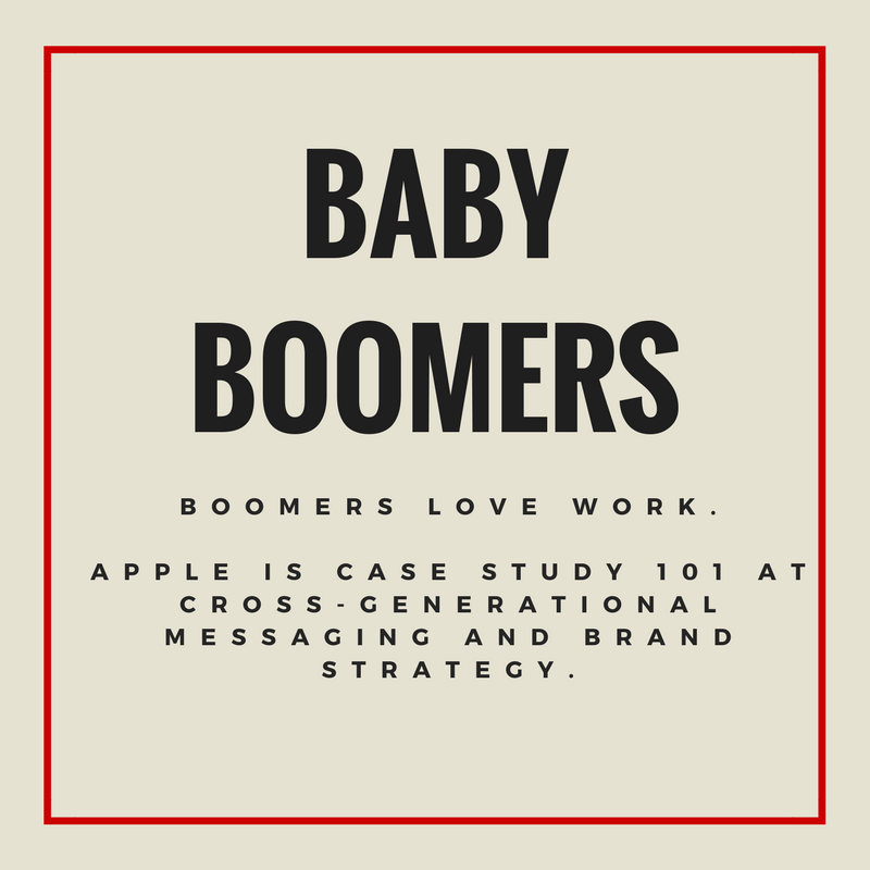 Baby Boomers Message Summary