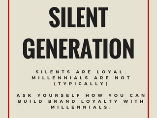 What's your message: Silent Generation