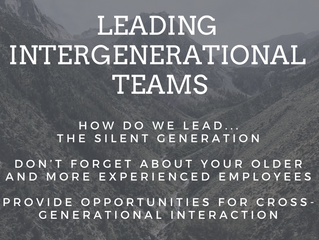 How do we lead…?: The Silent Generation
