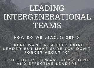 How do we lead…?: Gen X