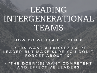 How do we lead…?: Gen X