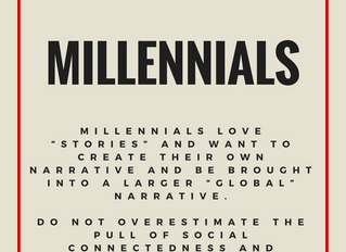 What's your message: Millennials