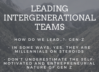 How do we lead...?: Gen Z