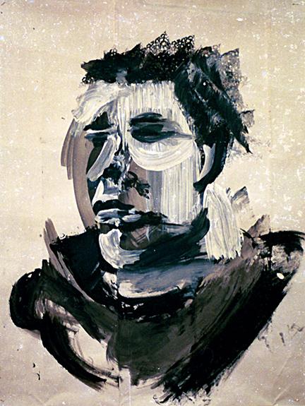 Portrait sepia