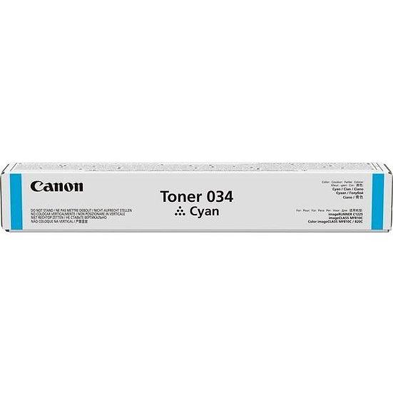 Canon TONER 034 C (7.3k pgs) Consumables