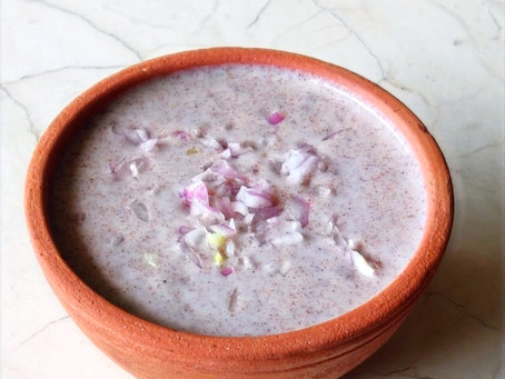 Koozhu - Fermented Ragi Porridge