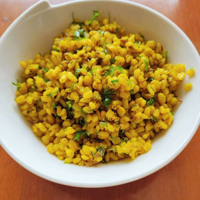 Moong Dal Chat - A quick fix protein-rich snack