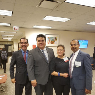 Celebrating Latino History Month at my dear alma mater, Depaul University College of Law
