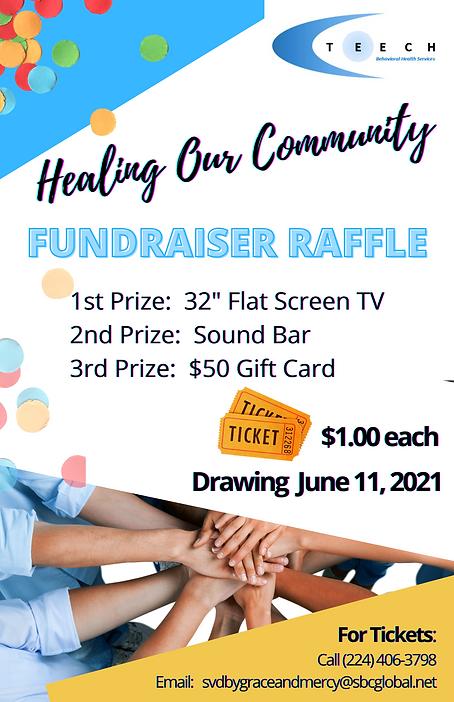 TEECH Healing Our Community Fundraiser -