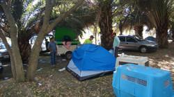 Acampamento na Sieger Argentina 2012