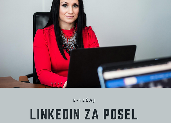 E-tečaj LinkedIn za posel