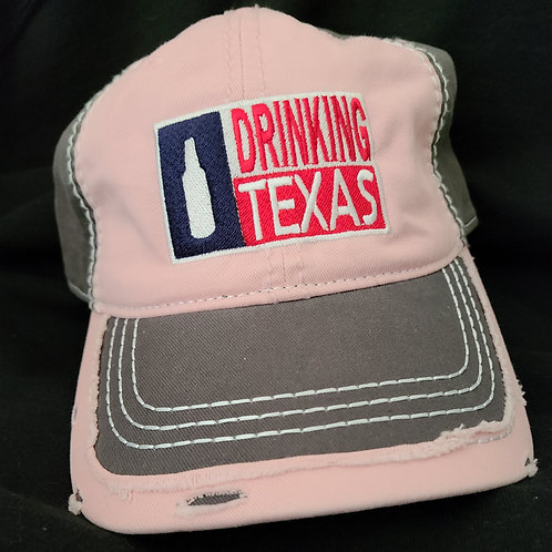 Limited Edition Distressed Drinking Texas Hat