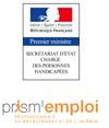 Signature d'un accord sur l'emploi des travailleurs handicapés en intérim : Etat et Prism'Emploi