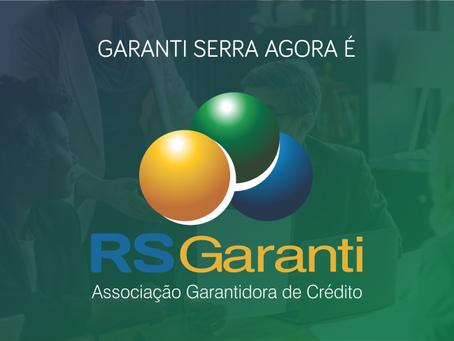 Garantiserra passa a ser chamada de RS Garanti