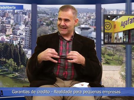 Marcelo de Lima & Cenair Gomes da Silva - Garantias de crédito e a realidade para pequenas empresas