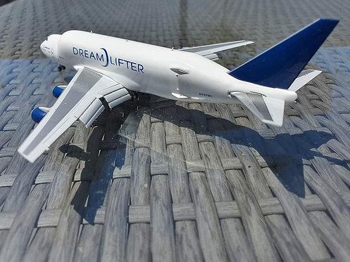 Boeing B747-400LCF Dreamlifter **FLAPS DOWN** N747BC / LH4BOE174 / 1:400