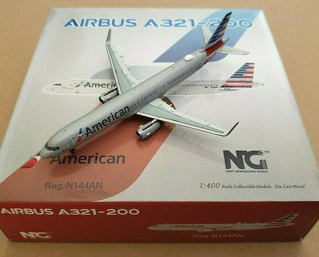 American A321 / N144AN / 13002 / 1:400
