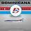 Thumbnail: DOMINICANA Boeing 727-200  / HI-242-CT / EAV242CT / 1:200