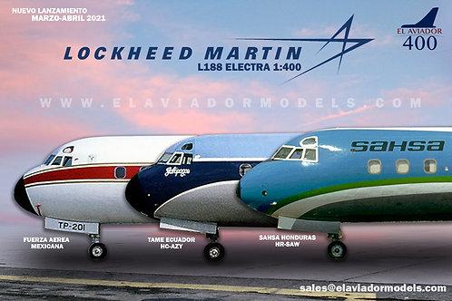 SAHSA Lockheed L-188A Electra / HR-SAW / EAV400-SAW / 1:400