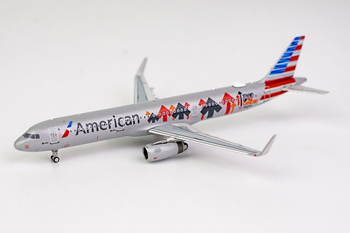 American (Stand Up To Cancer) A321 / N162AA / 13003 / 1:400
