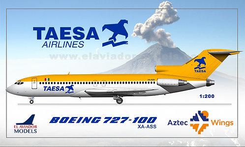 TAESA Boeing 727-51  /XA-ASS / EAVASS / 1:200