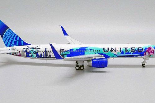 United Airlines (Her Art Here NY-NJ) B757-200 / N14102 / LH2UAL269 / 1:200