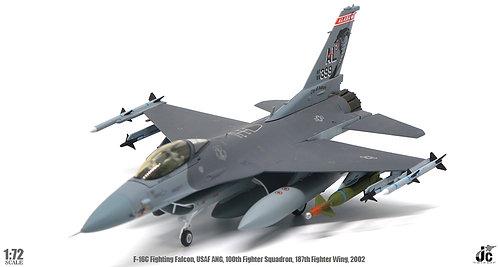 JC Wings Lockheed F-16C Fighting Falcon / USAF 187th FW, 160th / 1:72
