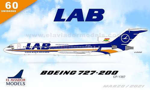LAB 727-200  /CP-1367 / EAV1367 / 1:200