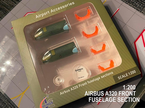 AIRBUS A320 Front FUSELAGE SECTIONS SET / JC2GSESETC / 1:200