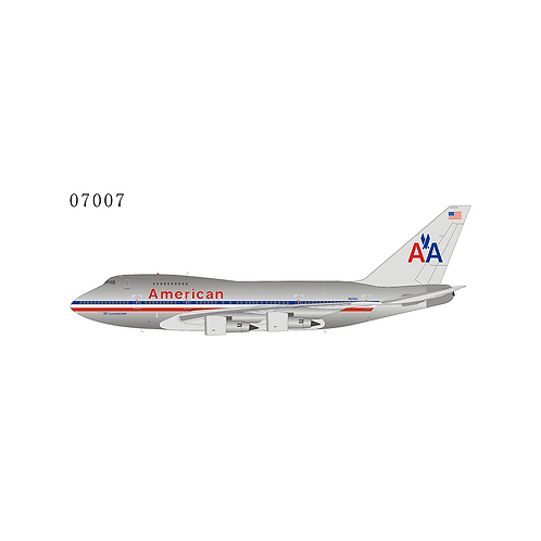 American Airlines Boeing B 747SP / N601AA / 07007  1:400