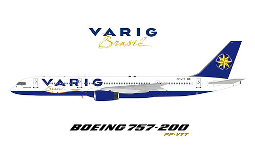 VARIG Boeing 757-200 / PP-VTT  / IF752VG1220 / 1:200