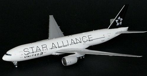 """UNITED B777-200ER """"STAR ALLIANCE"""" / N77022 / JC2UAL966 / 1:200"""