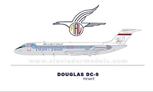 Aeropostal McDonnell Douglas DC9-31 / YV141T / EAV141T / 1:200