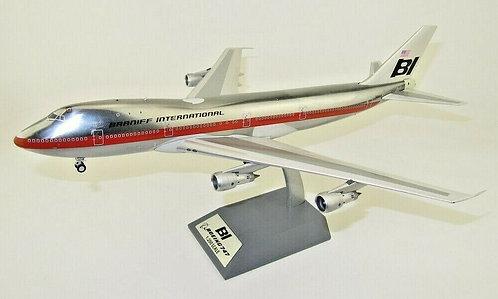 Braniff  Boeing 747-100 / N9666 / IF741BN1218P / 1:200