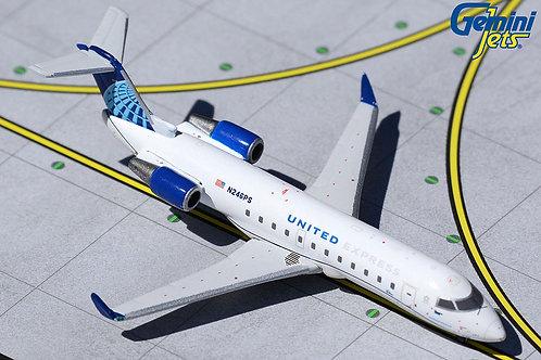 United Express / CRJ200LR / N246PS / 1:400