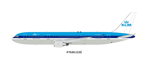 KLM Royal Dutch Airlines Boeing B 767-300 / PH-BZH / IF763KL / 1:200