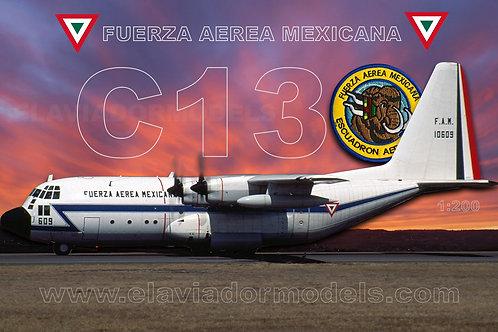 Fuerza Aerea Mexicana  Lockheed C-130 Hercules / FAM10609 / EAV609 / 1:200