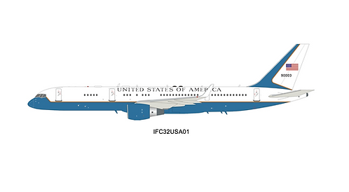United States Air Force Boeing B 757-200 / 99-0003 / IFC32USA01 / 1:200