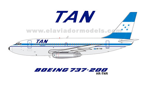 TAN Airlines Boeing 737-200 / HR-TNR / EAVTNR / 1:200