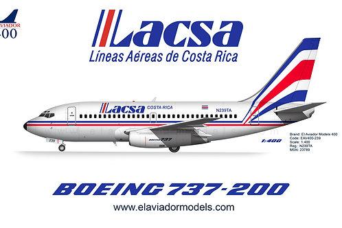 LACSA Boeing 737-200 / N239TA / EAV400-239 /  1:400