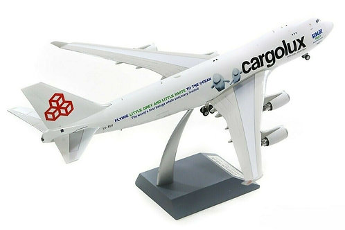 "Cargolux ""Sealife Trust""  B747-400 / LX-ECV / IF744CV0319 / 1:200"