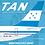 Thumbnail: TAN Airlines Boeing 737-200 / HR-TNR / EAVTNR / 1:200